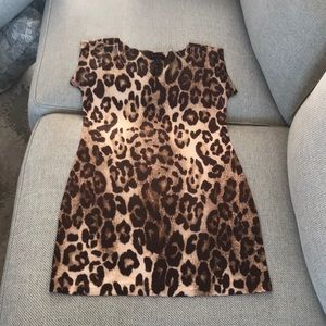 Patricia Field leopard dress